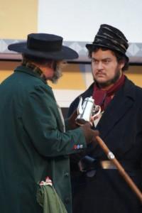 "Eske som Sykes i ""Oliver"" 2010"